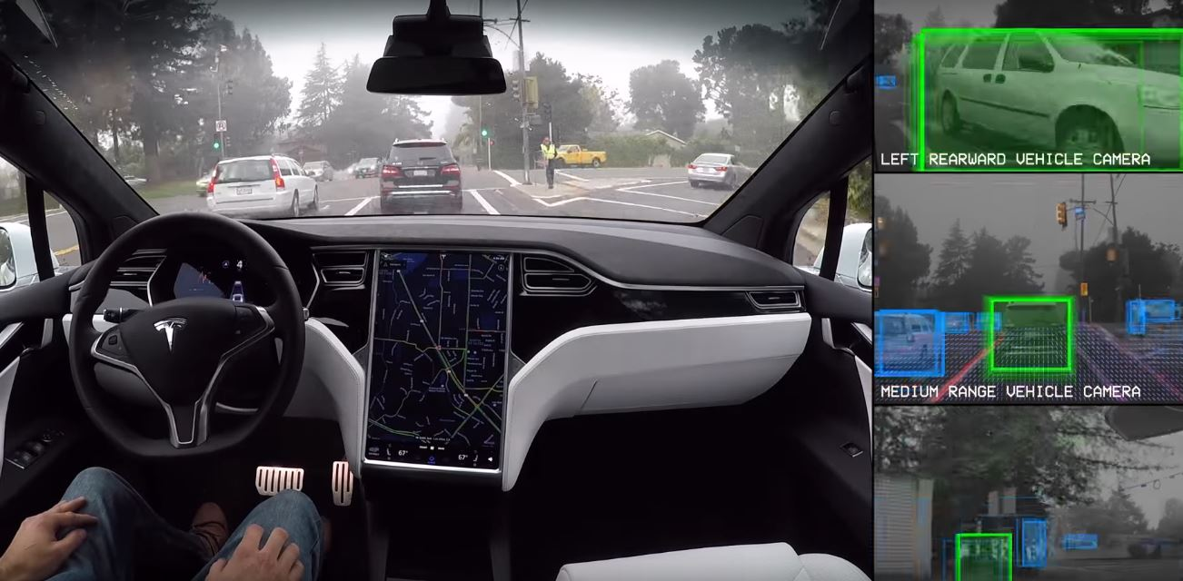 Tesla Motors Autopilot Full Self-Driving Hardware