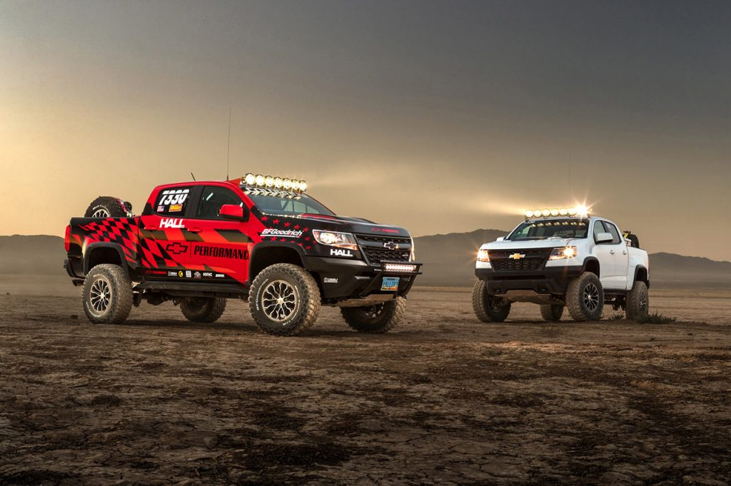 Colorado ZR2 Race Development Truck