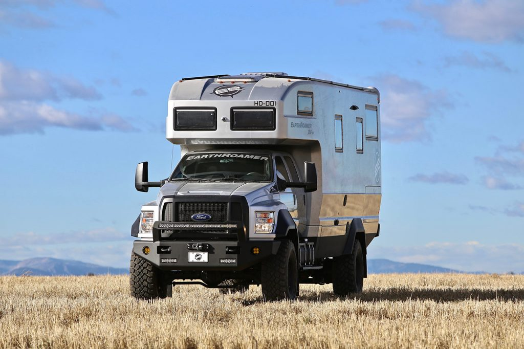 Ford F-750 — XV-HD EarthRoamer