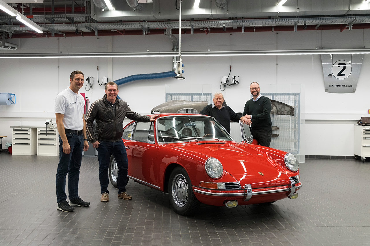 Porsche 911 (901 No. 57) – A Legend Takes Off