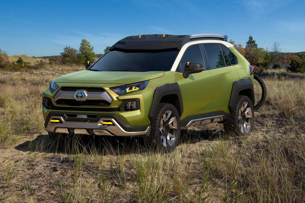 Future Toyota Adventure Concept - FT-AC