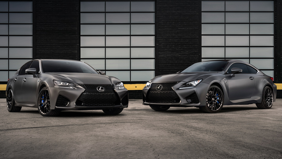 10th Anniversary Limited - Lexus GS F & Lexus RC F