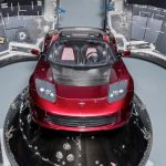 Falcon Heavy SpaceX Tesla Roadster