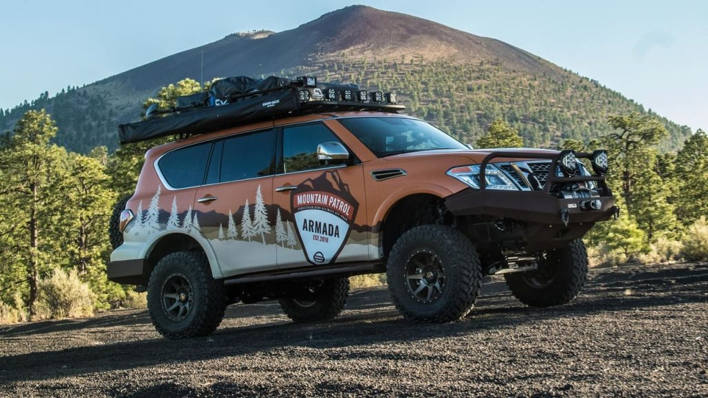 Nissan Armada - спецверсия Mountain Patrol