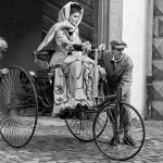 Экранизация первой поездки Bertha Benz авто от Mercedes-Benz в 1888 году