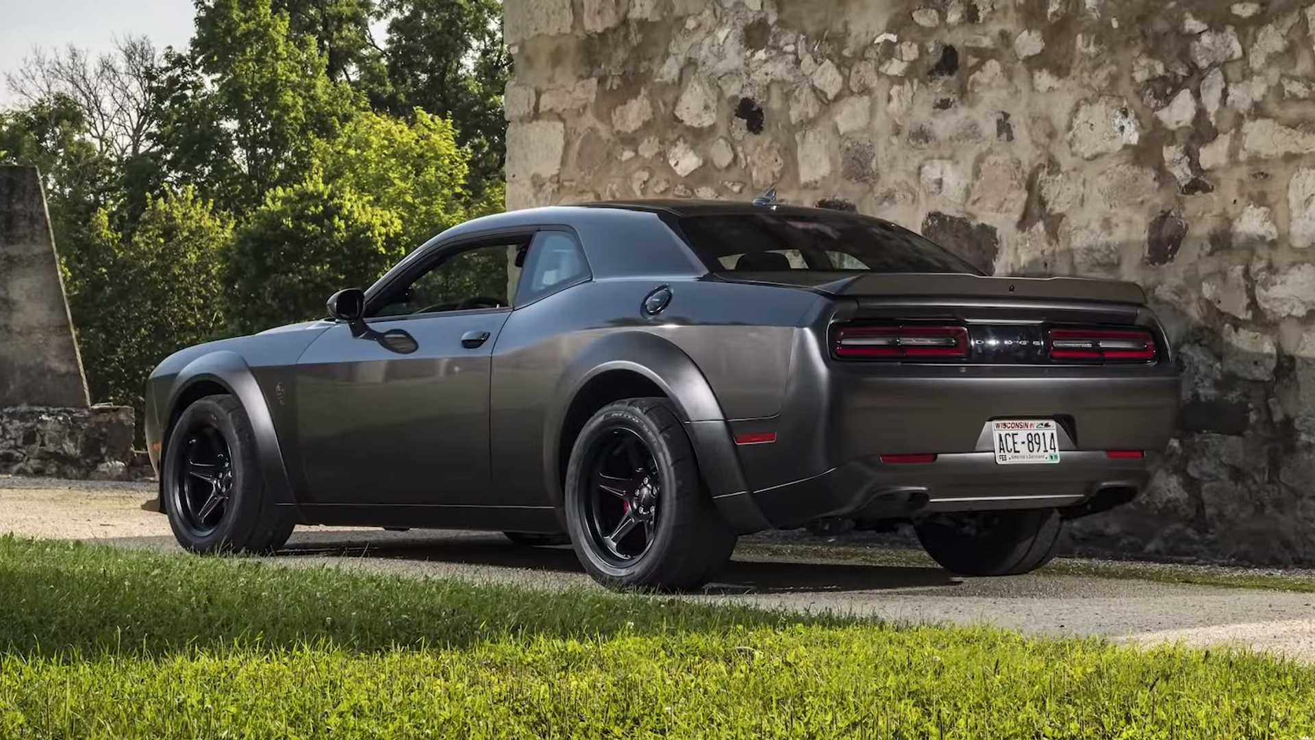 Dodge Challenger SRT Demon от ателье SpeedKore