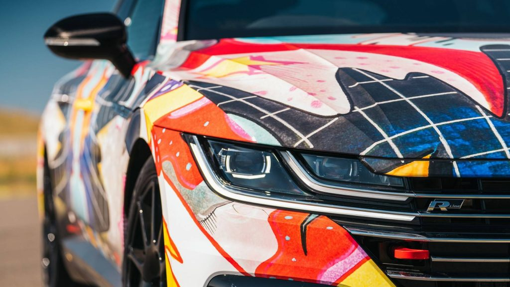 Volkswagen Arteon ART3on для гонок World Time Attack Challenge