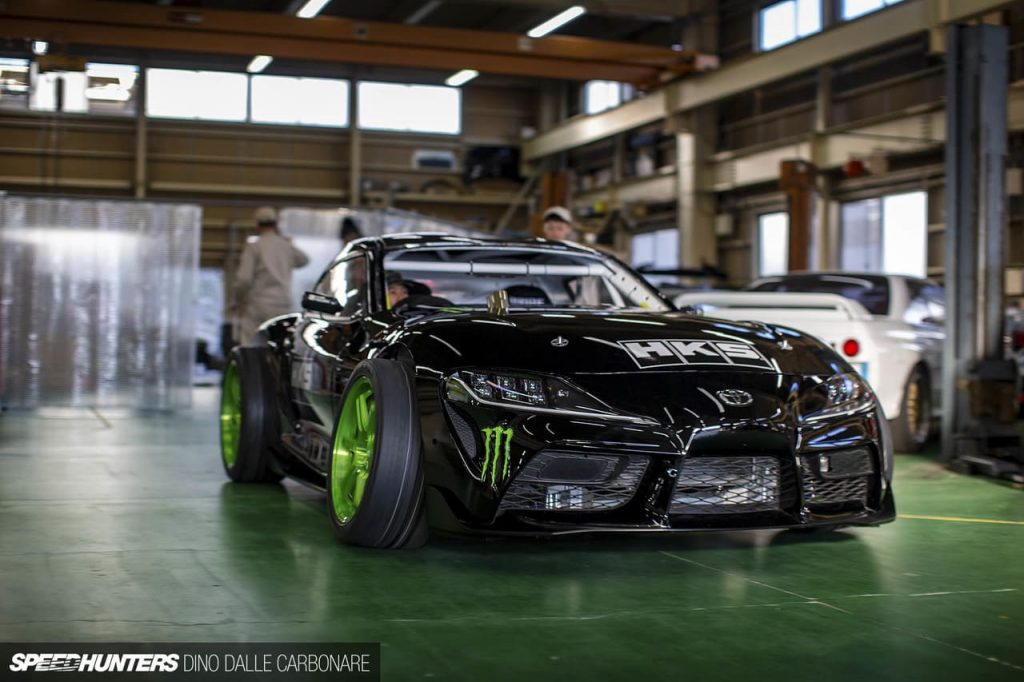 Daigo Saito Builds World's First Drift Toyota GR Supra