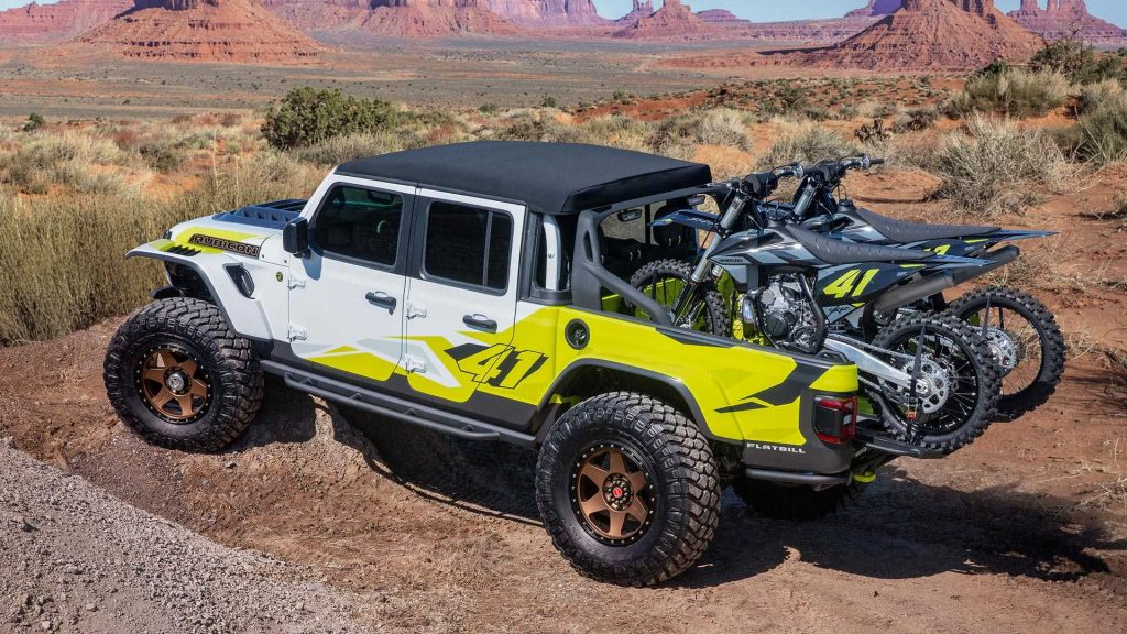 Jeep Easter Safari Jeep Gladiator Flatbill
