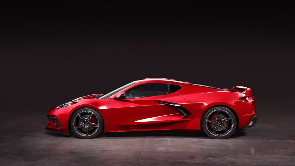Chevrolet Corvette Stingray C8 V8 2020