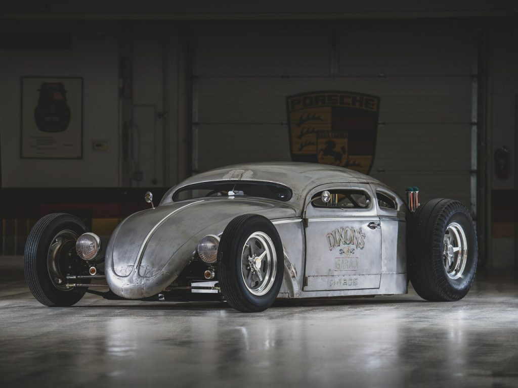 1956 Volkswagen Beetle Outlaw Death by Franz Muhr