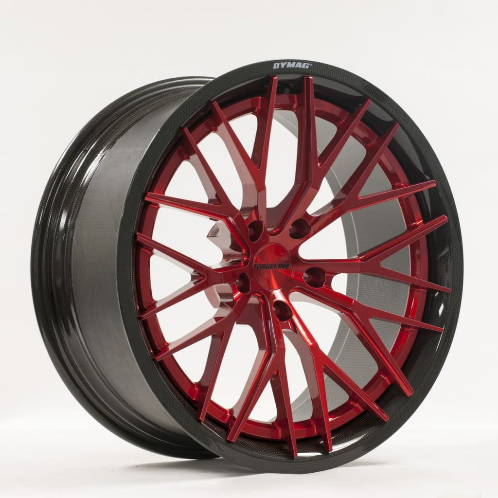 Forgeline CF203D Trans Red
