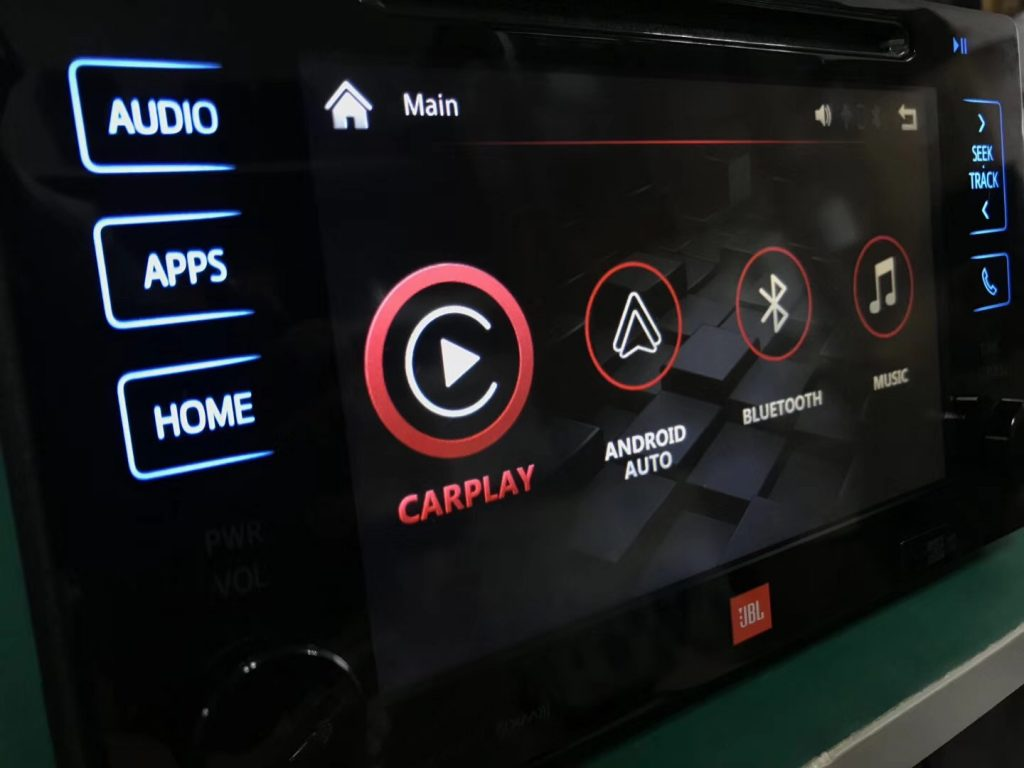 Видеоинтерфейс CarPlay & Android Auto для Toyota 2014-2020