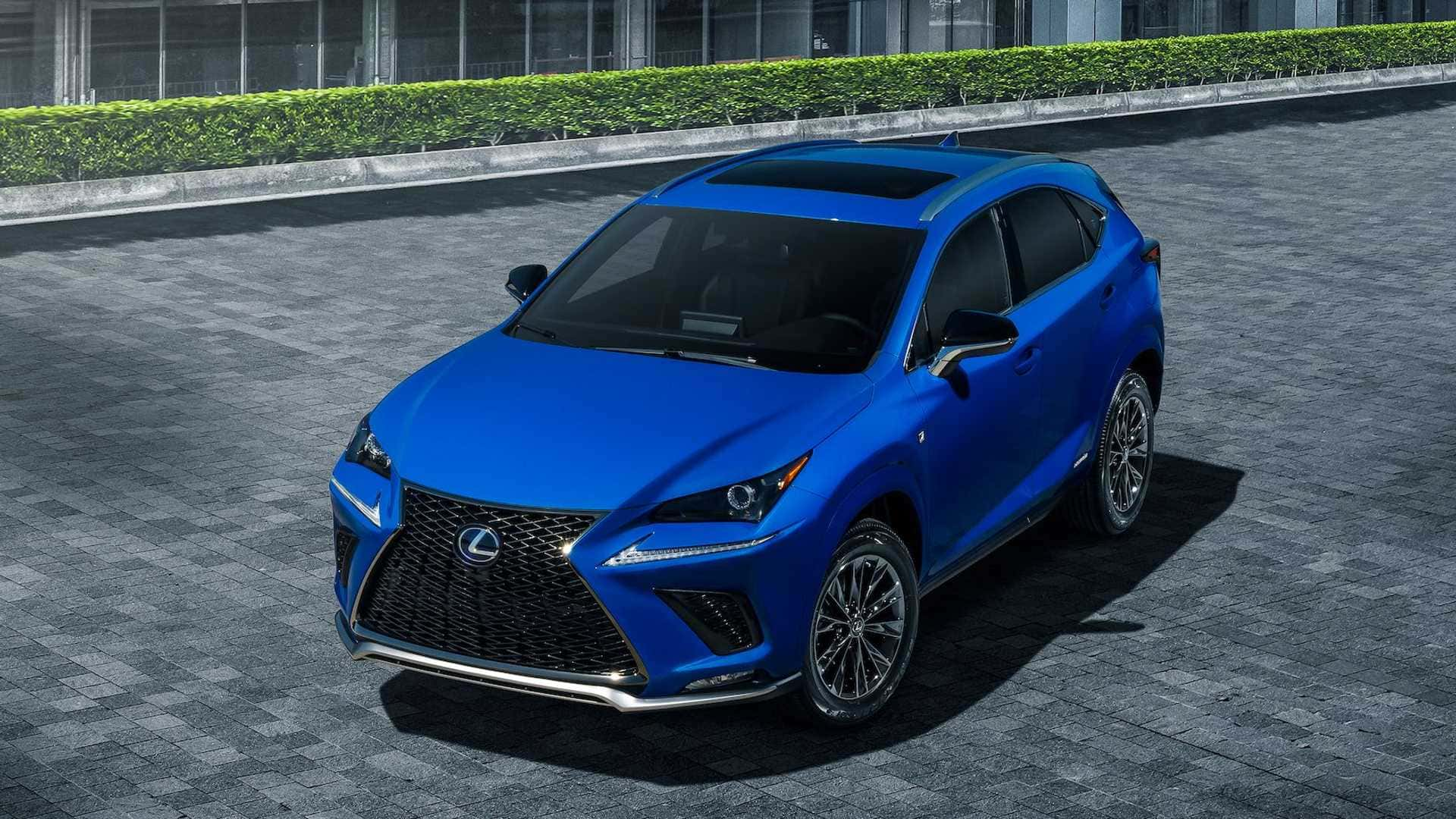 NX 300h F Sport Black Line Special Edition